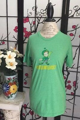 "Feeling Lucky(Lucky Charms) Women's S Leprechaun Screen Print Tee By ""Canvas"""