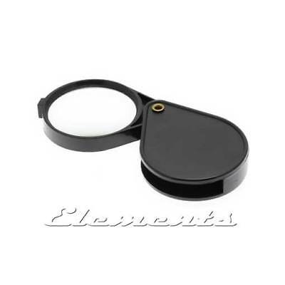 Jewellers Folding Lens Pocket Magnifying Glass magnifier 60mm Loupe T105