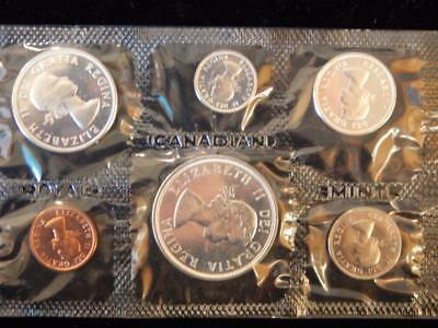 1964 Canada PL set 1.1 ounce of silver  NO reserve! (BK24)