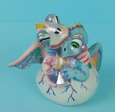 Franklin Mint Mood Dragons Limited Edition – Comfy & Cozy – Hand Painted
