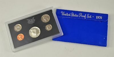 MBarr 1970 Proof Coin Set United States 40% Silver Half