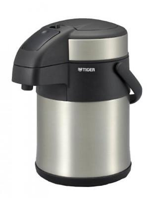 Tiger thermos bottle warming desk stainless steel air pot Tsuru 2.2L MAA-C220-XC
