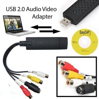 USB 2.0 Video Capture TV DVD VHS Video DVR Capture Adapter Card with Audio