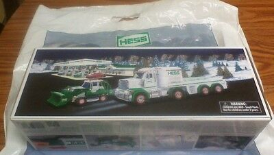 2013 Hess Toy Truck And Tractor Trek Unopened, With Bag! Loook!