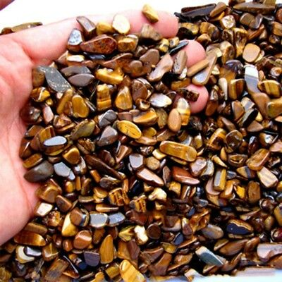 100g Natural Tiger Eye Stone Rough Gravel Crystal Specimen Craft Jewelry Making