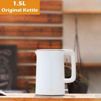 1.5L Xiaomi Original Electric Water Kettle 304 Stainless Steel LED Light 1800W