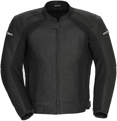 Cortech 8992-0235-04 Latigo 2 Leather Jacket SML Flat Black