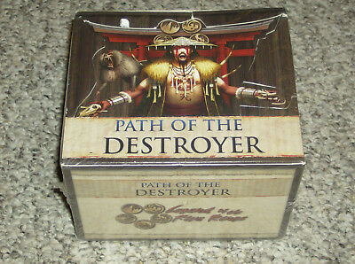 Legend of the Five Rings CCG: Path of the Destroyer Booster Box - New