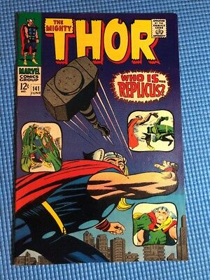 The Mighty Thor #141 1967 Silver Age By Stan Lee & Jack Kirby High Grade