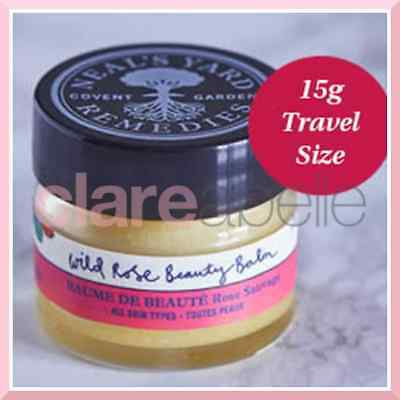 Neal's Yard Wild Rose Beauty Balm 15g - RRP £12.00 - Travel Size
