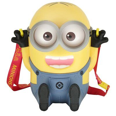 USJ Official Limited Minions Minion Popcorn Bucket Piggy Bank Sitting ver.