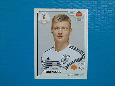 Figurine Panini World Cup Russia 2018 n.441 Toni Kroos Germany