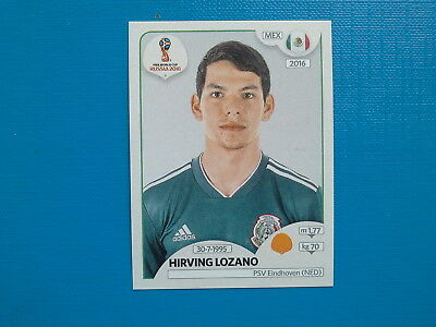 Figurine Panini World Cup Russia 2018 n.467 Hirving Lozano Mexico