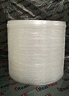 """REALPACK® BRANDED 100m Small Bubble Wrap 500mm 20 """" removal protective"""