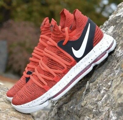 66c9d9b04152 new nike zoom kd 10 mens size 10.5 shoes university red pure