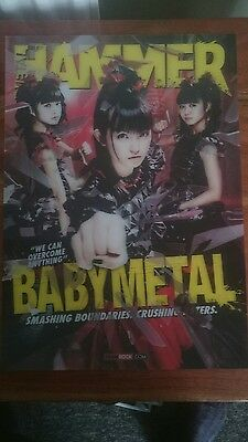 Metal Hammer Magazine Babymetal Baby Metal 3D Lenticular Cover