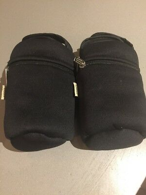 Closer To Nature Insulated Warmer Bottle Bags X2 EUC