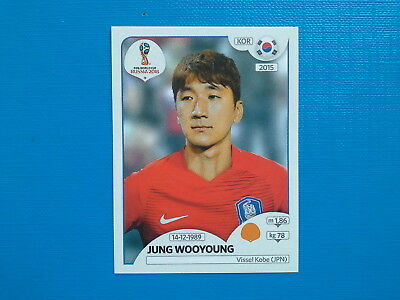 Figurine Panini World Cup Russia 2018 n.506 Jung Wooyoung Korea Republic