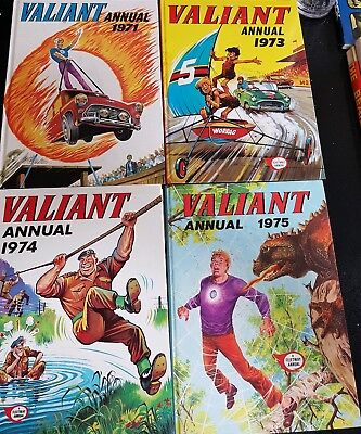 Collection of Valiant Annuals Vintage