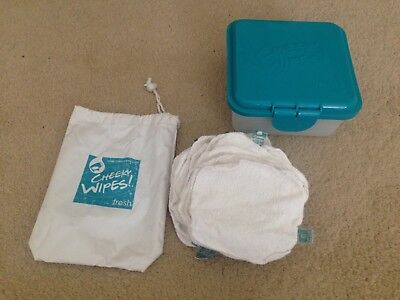 cheeky wipes set with box and bags 20xwipes storage box