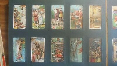 Franklyn Davey 'Historic Events' - 1924 x 50 + Wills's Ship Badges (50) in album
