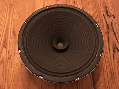 Vintage Utah 12 inch 8 ohm part # B12JC-W Tested at 6.9 Ohms Dated 328031.1