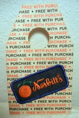 1970's Vintage Nesbitt's Orange Soda Pop 6 Pack PREMIUM Give Away Hang Tag patch