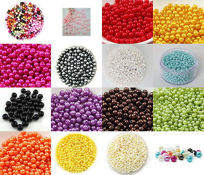 50 Perle imitation Brillant 4mm Couleur au choix Creation Bijox, Collier ...