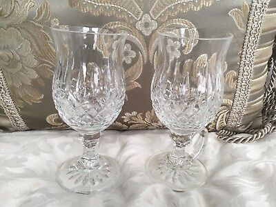 Lot Of 2 Waterford Crystal Lismore Irish Coffee Mug 6 3/8""