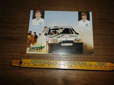 Klima Triner Skoda Favorit Portugal Rally Card   Rallye
