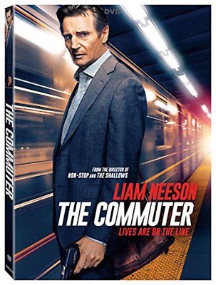 The Commuter Dvd - Single Disc Edition - New Unopened - Liam Neeson