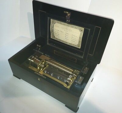 Antique Nicole Freres Music Box in Beautiful Condition C.1890 (Watch Video)