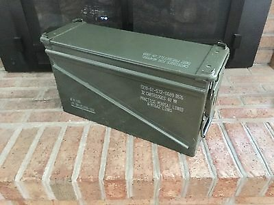 Military Surplus 40mm PA-120 Large Ammo Can Box 100% Steel Excellent 1 each