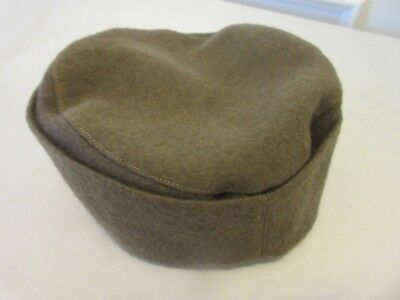 VINTAGE TRADITIONAL SERBIAN CAP -- WOOL WITH SILK LINED INSIDE -- FROM 1930's