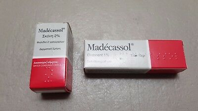 MADECASSOL ®  powder 2% OR ointment cream 1% scars strech injury marks burns