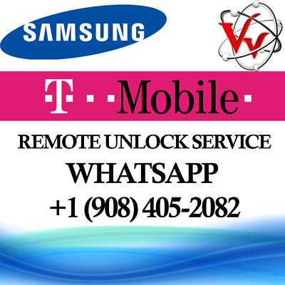 Instant T-Mobile Remote Device Unlock App Service Samsung Galaxy S8/S8+ S7 Note8
