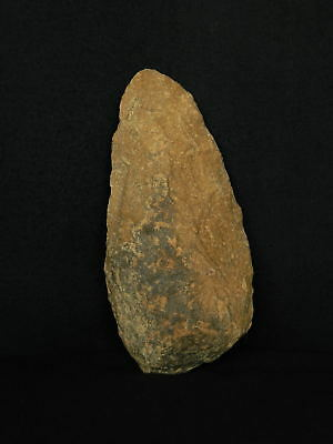 ANCIENT Quartzite HAND AXE - Acheulean Civilization -17.5 cm LONG - Sahara