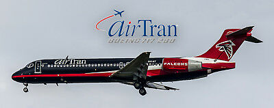 Airran Airlines Boeing 717 Falcons Photo Magnet (PMT1505)