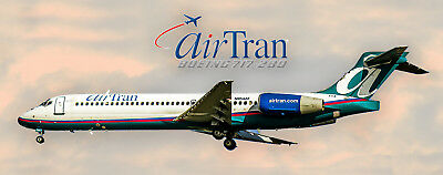 Airran Airlines Boeing 717 Photo Magnet (PMT1506)