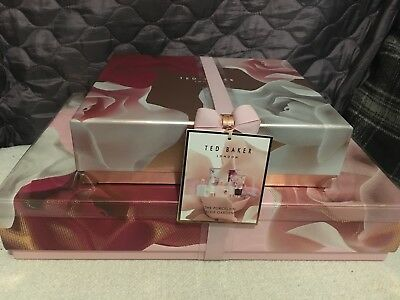 Ted Baker The Porcelain Rose Garden Gift Set Women Toiletries Collection New