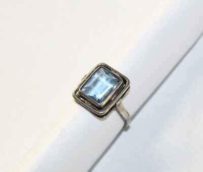 Faberge Antique Imperial Russian 84 silver Ring with stone  19th century