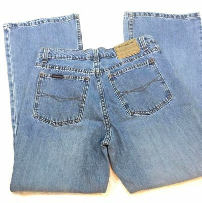 Jordache Womens Size 11/12 80's 90's Vintage Mom Jeans Tapered Leg Stone Wash