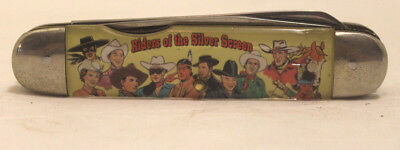 Vintage, Camillus Commemorative cowboy Pocket Knife,Riders Of The Silver Screen
