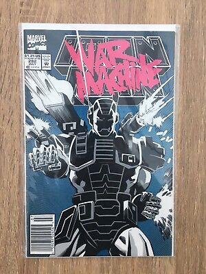 Iron Man 282 First Full  Appearance Of  War Machine