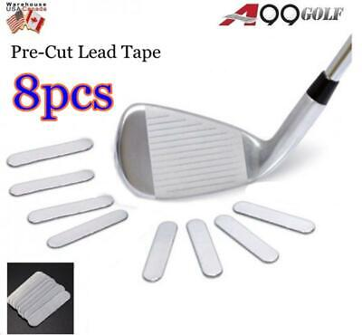 A99 Weighted Lead Tape Add Power / Weight on Golf Tennis Racket Iron Putter 8pcs