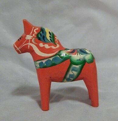 Dala Sweden Painted Horse Figurine Olsson