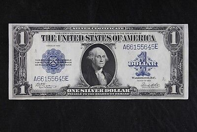 $1 1923 Horse Blanket Large silver certificate A66155645D one dollar FREE SHIP.