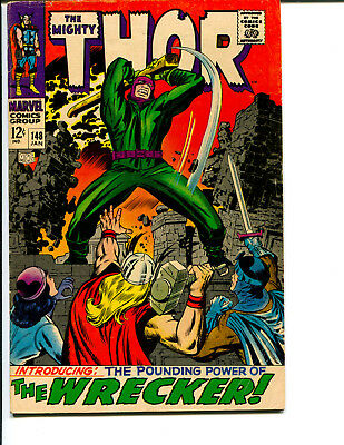 Thor #148 *Featuring First Appearance of the Wrecker*