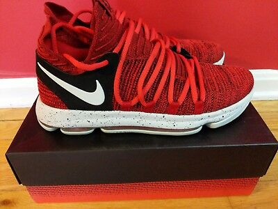Nike Zoom KD10 KD 10 X KDX Red Velvet Cupcake Edition shoes sz 10 Used