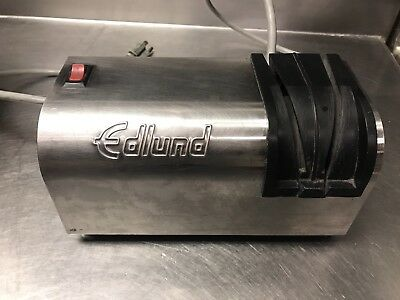 Edlund Electric Knife Sharpener Model 395 Commercial Used